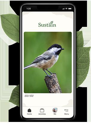 Sustain mobile app