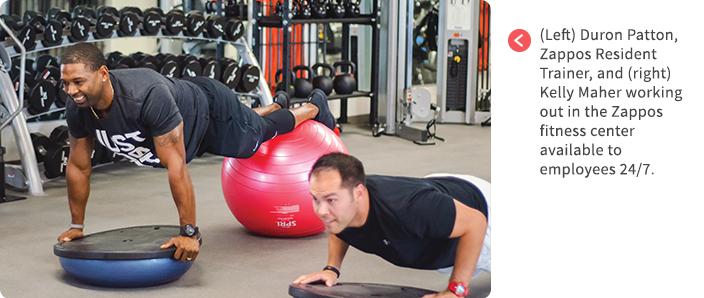 Zappos-employee-gym