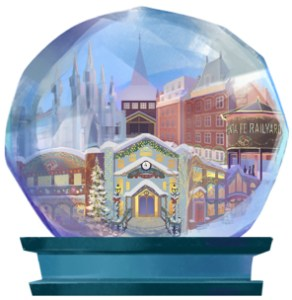Health for the Holidays Snowglobe