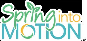 Spring Into Motion Logo