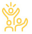 yellow icon showing team participanting