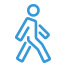 icon of person walking