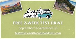 Coast to Coast 2-Week Test Drive