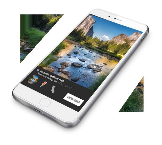 Well Traveled mobile app